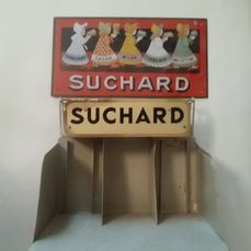Suchard advertising display sign - Iron (cast/wrought)