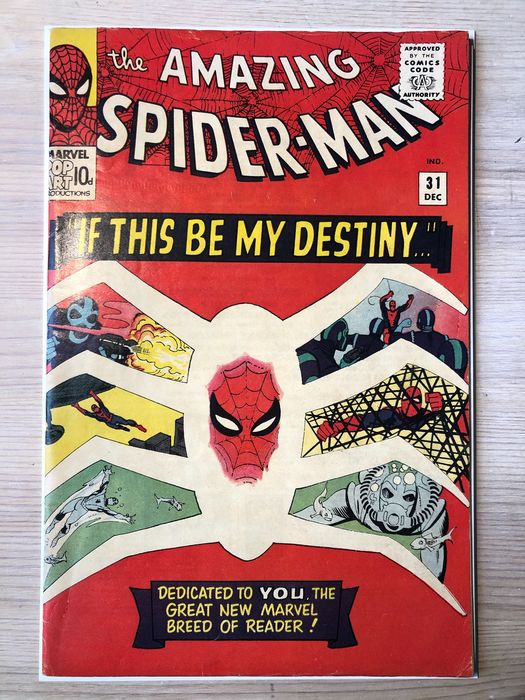 Amazing Spider-man #31 - 1st app Gwen Stacy - Stapled - First edition (1965)