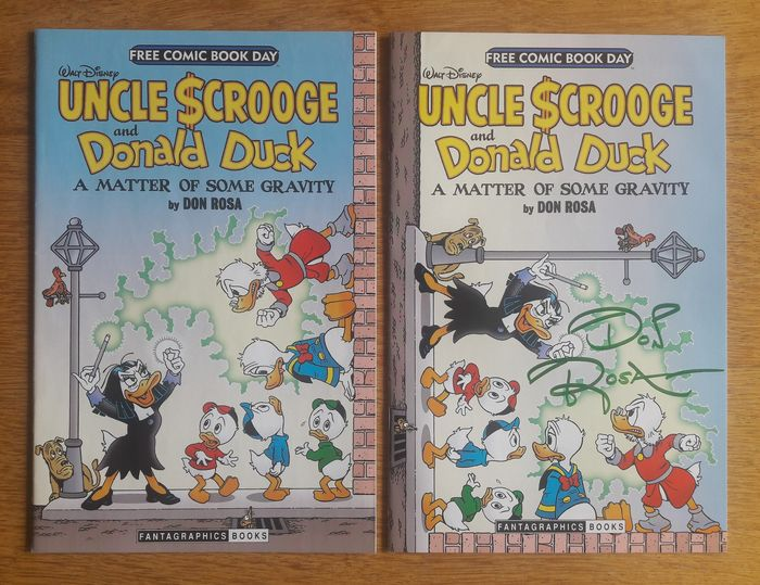 Uncle Scrooge and Donald Duck - A matter of some gravity - Paperback - Eerste druk - (2014/2014)