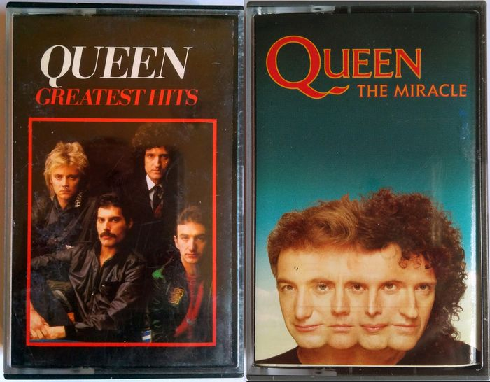 Queen - Greatest Hits I, The Miracle - Multiple titles - Cassette - 1981/1989