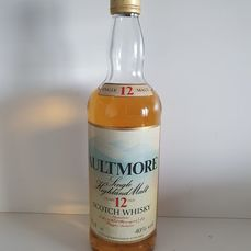Aultmore 12 years old - Original bottling - b. Anni '80 - 75cl