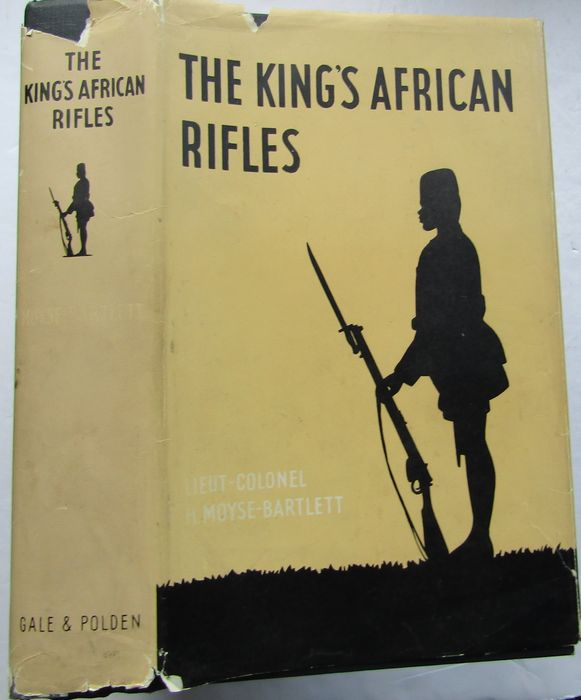 Lieutenant -Colonel H. Moyse-Bartlett - The King's African Rifles - 1956