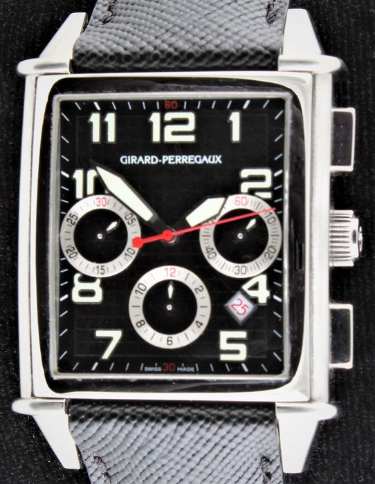 Girard-Perregaux - Vintage 1945 XXL Chronograph - Limited Edition - Never Worn - Ref. No: 25840, Limited N° 321 from 999 - Mænd - 2011-nu