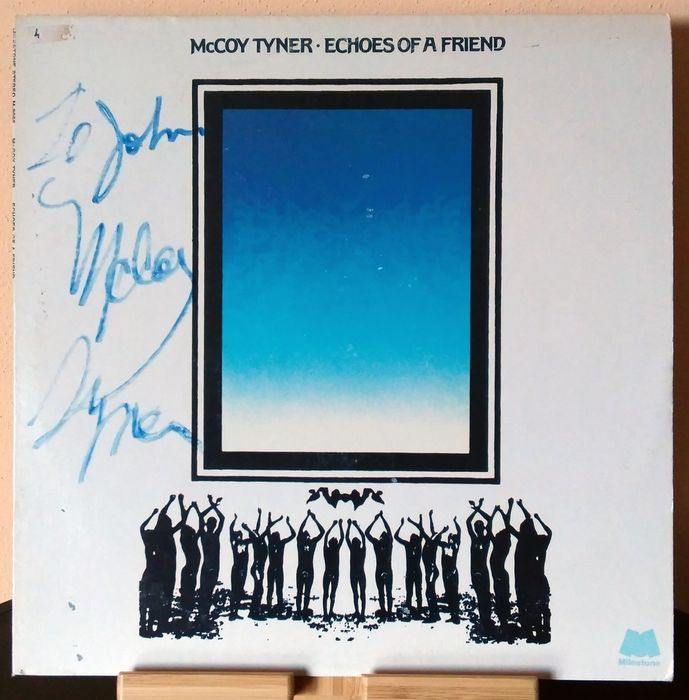McCoy Tyner - Echoes Of A Friend [Signed by McCoy Tyner] - LP Album, Signed memorabilia (original authograph) - 1974/1974