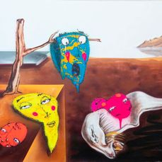UTOPIA - vs  SALVADOR DALÍ  - The Persistence of Memory.... ops!!! bubbles -