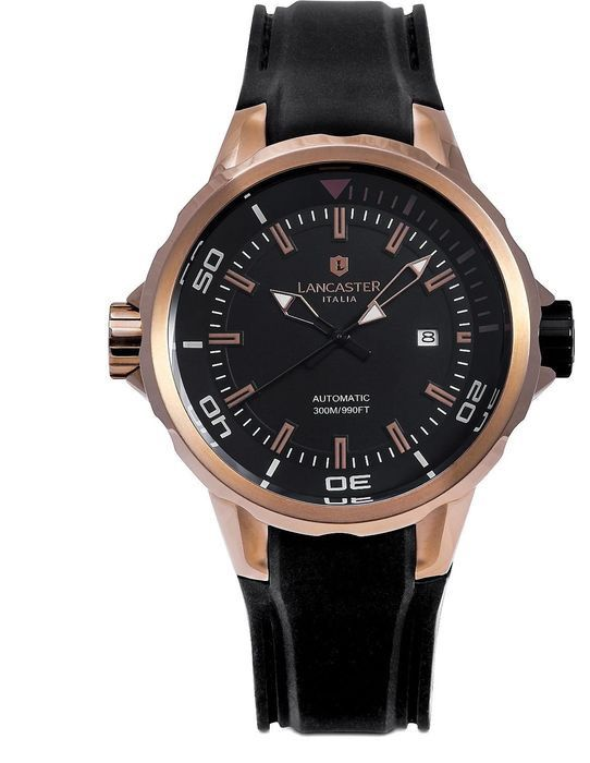 """Lancaster Italy - Automatic Space Shuttle Collection - OLA0668S/RG/NR/NR """"NO RESERVE PRICE"""" - Men - 2011-present"""