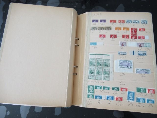 Frankrijk - Important collection of stamps - Volume 1