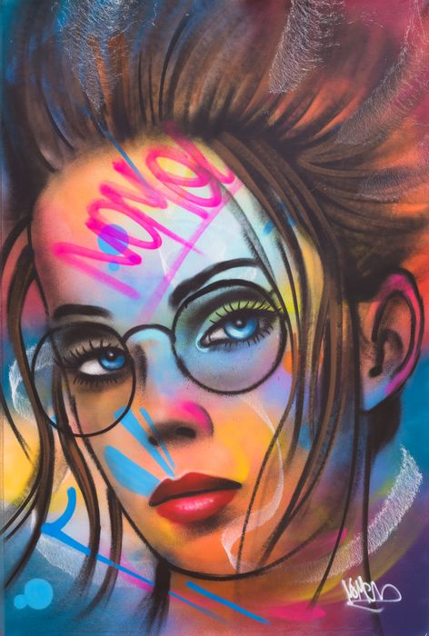 Nomen (1974) - Girl with the glasses XL Size