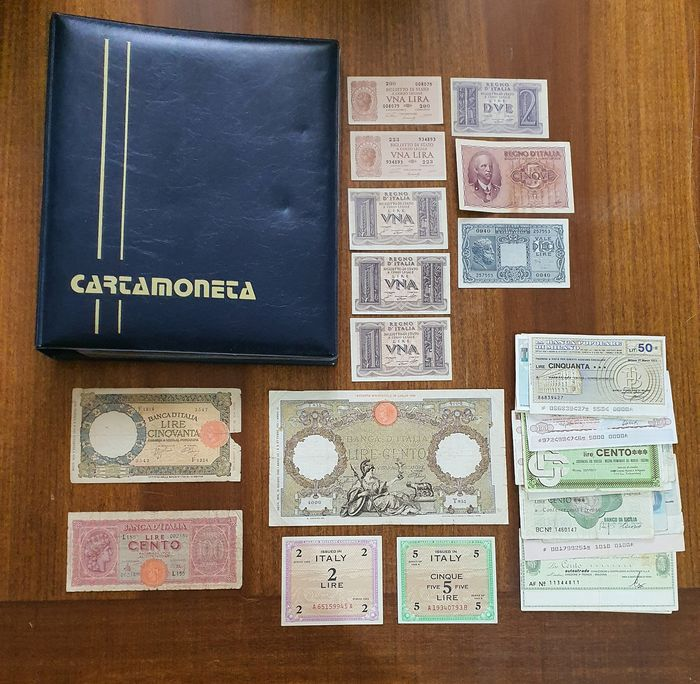 Italy - 31 banconote - varie anni