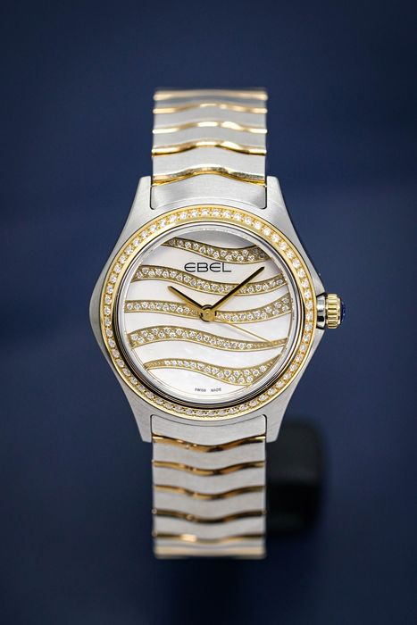 Ebel - Wave Diamond Mother of Pearl - 1216380 - Donna - 2011-presente