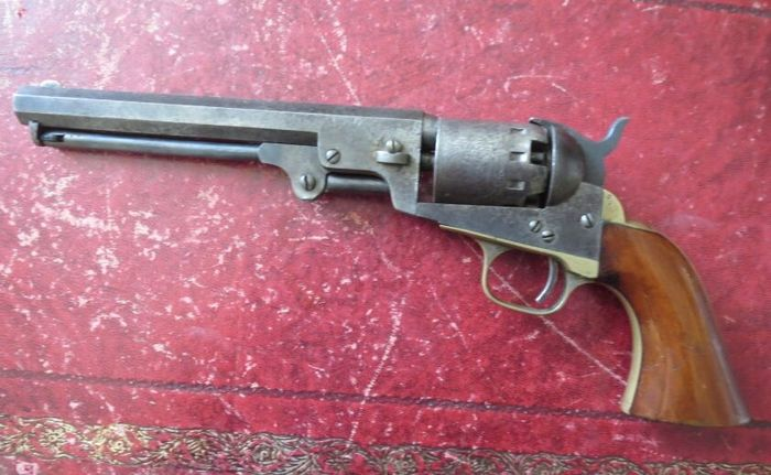 United States of America - 19th Century - Mid to Late - Manhattan - Navy - Percussion - Revolver - 36