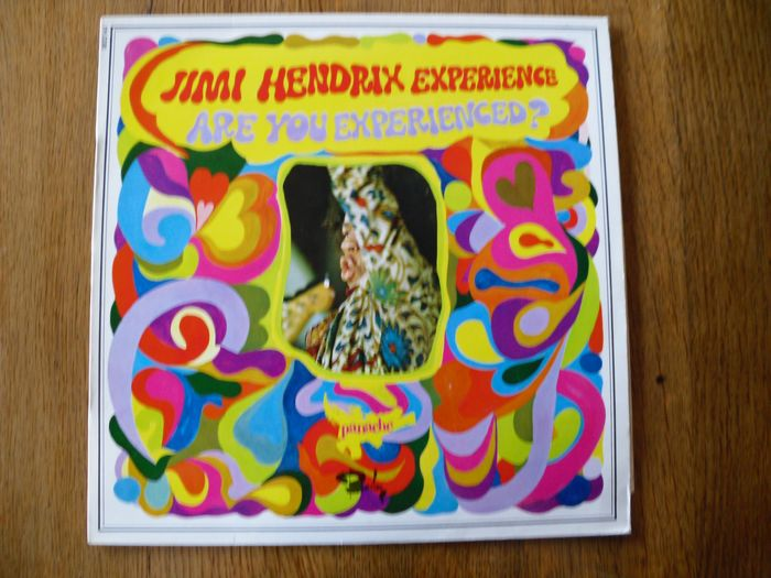 Jimi Hendrix Experience - Are you experienced? [French Barcley Serie Panache Mono Pressing] - LP Album - 1967