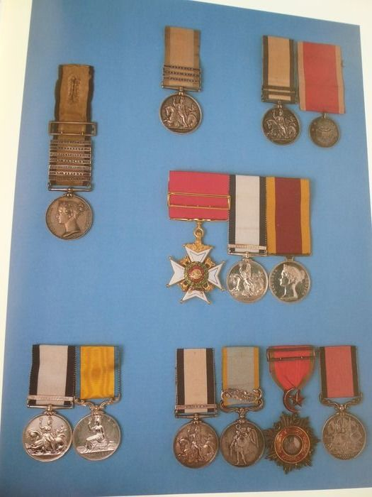 Captain Kenneth Douglas-Morris - Naval medals 2 boxed books    : 1793 - 1856 and 1857 - 1880 - 1987/1994