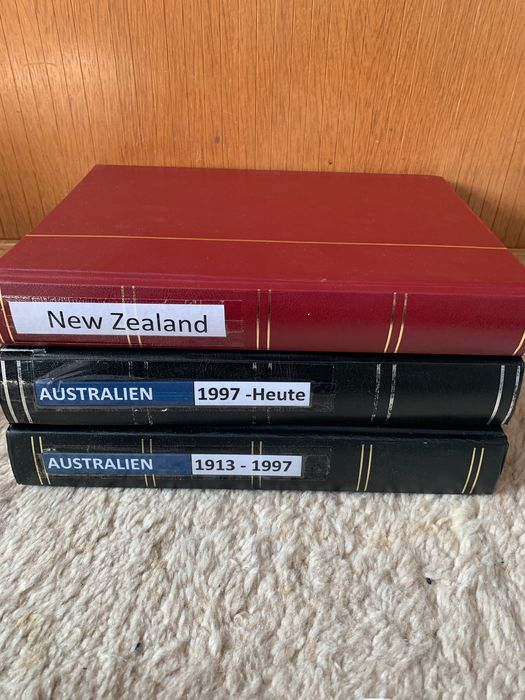 Australia 1840/2018 - 2 albums Australia and old territories (Victoria, Western Australia) as well as New Zealand with