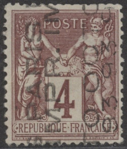 Frankreich - France, 1893 - pre-cancelled, Yvert No. 14, without gum.