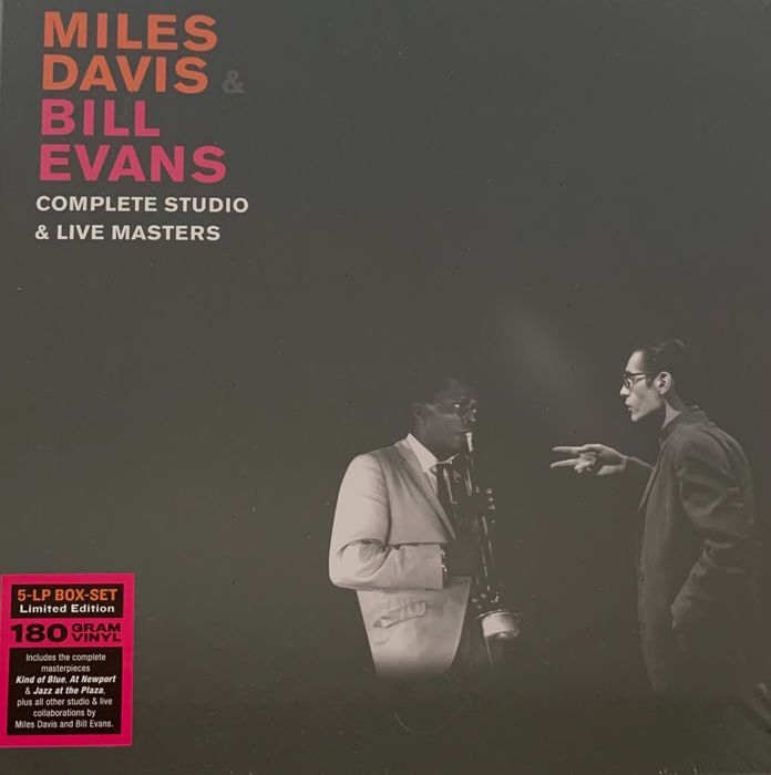 Bill Evans, Miles Davis - Complete Studio & Live Masters - 5xLP Limited Edition Box Set Numbered (797/1000 cps) - Multiple titles - Limited box set - 2020/2020