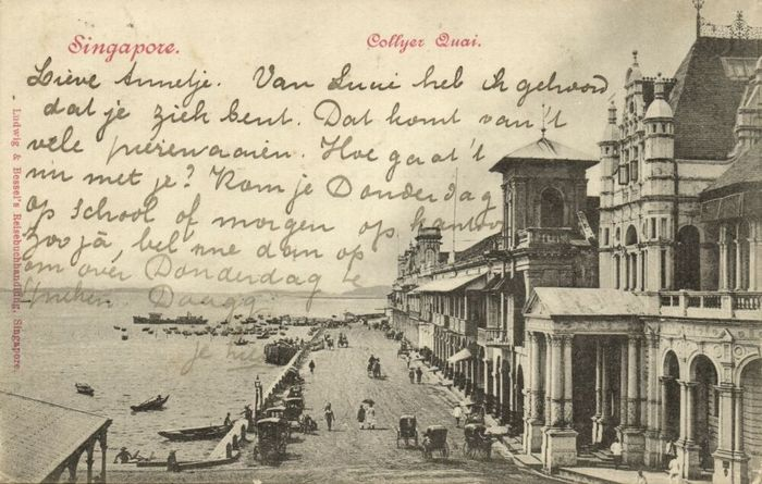 China, India, Indonesia, Japan, Malaysia, Singapore, Thailand, Hong Kong - City & Landscape - Postcards (Collection of 44) - 1905
