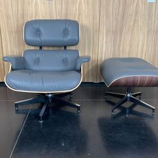 Charles Eames, Ray Eames - Herman Miller - Lounge chair, Ottoman