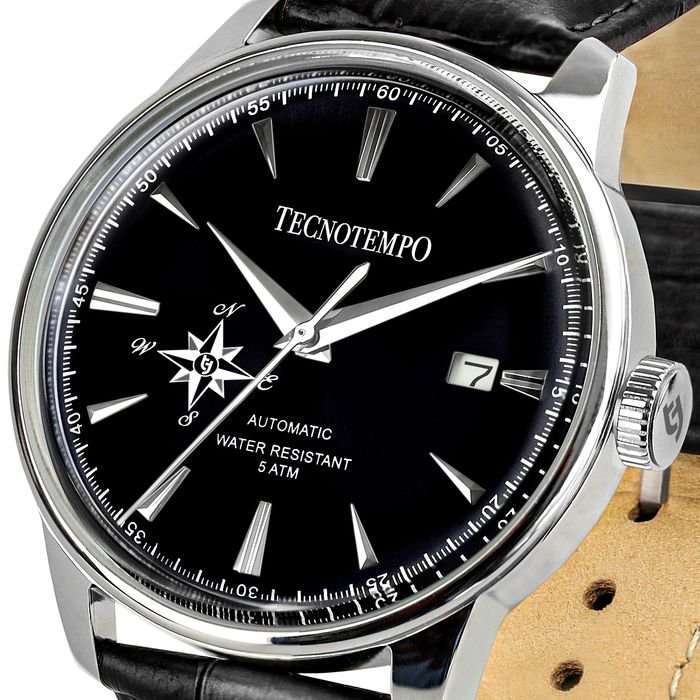 """Tecnotempo - - """"NO RESERVE PRICE"""" -  """"Special Edition Big Wind Rose"""" Black Dial  - LIMITED EDITION - - TT.50.RVN - Herren - 2011-heute"""