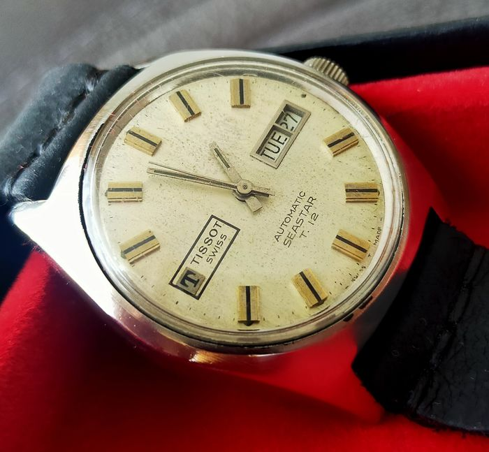 Tissot - Seastar Discovery Day T.12 Automatic - Cal.794 - Heren - 1970-1979
