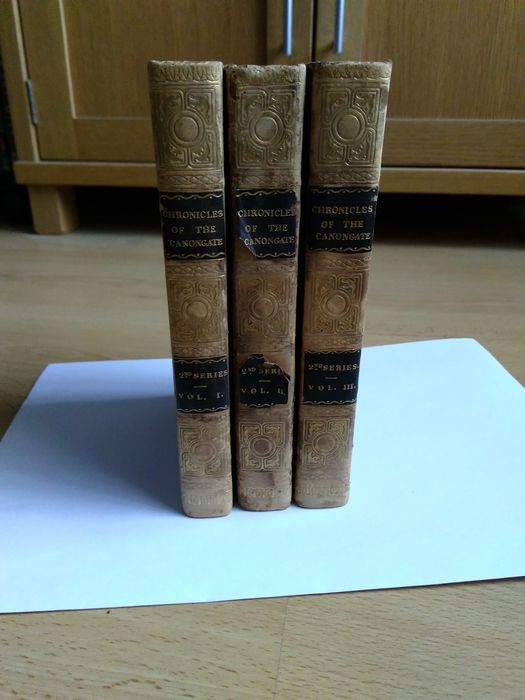 Sir Walter Scott - Chronicles Of The Canongate - Second Series - 1828/1828