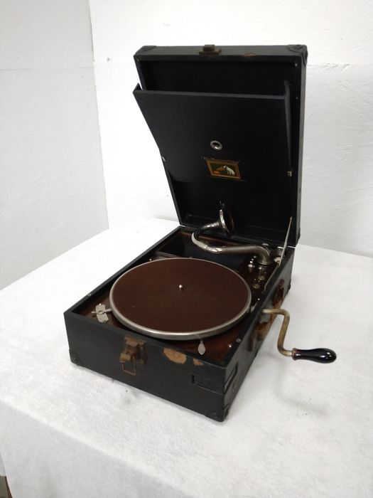 His Masters Voice - Onbekend - 78 rpm Grammofoon speler