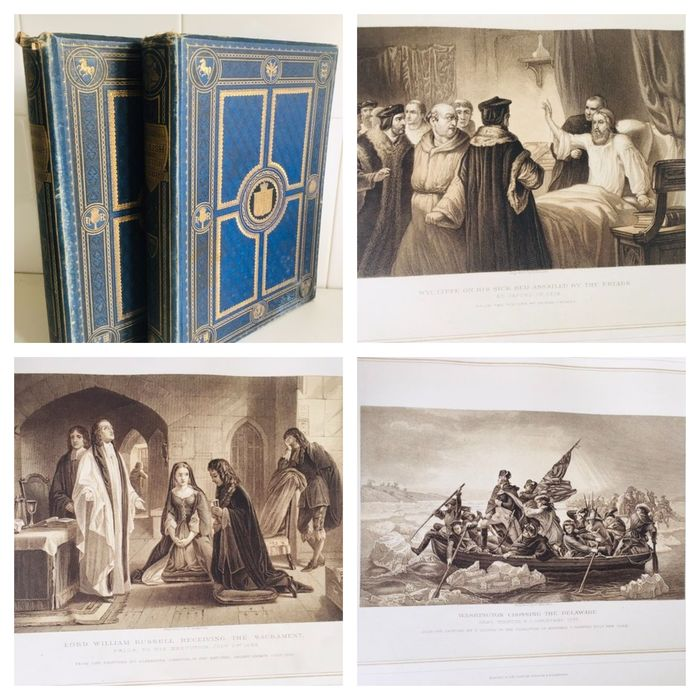 Thomas Archer - Pictures & Royal Portraits Illustrative of English and Scottish History - 1878