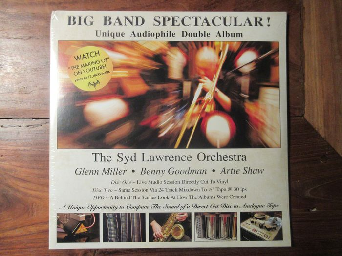 The Syd Lawrence Orchestra - Big Band Spectacular ! (Sealed) - 2xLP Album (dubbel album) - 2015/2015