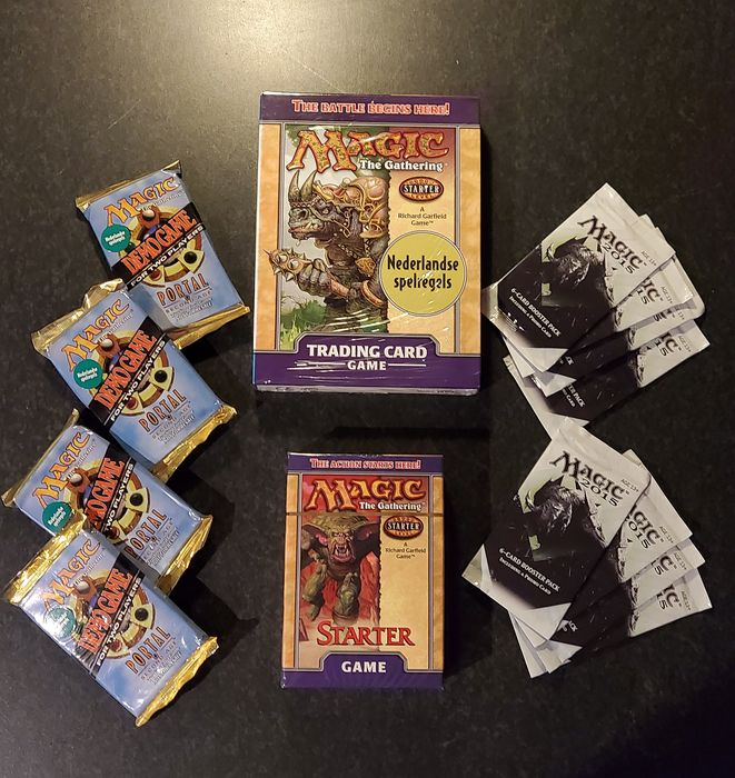 Wizards of The Coast - Magic: The Gathering - Verzameling Rare mtg beginner collection - 1998