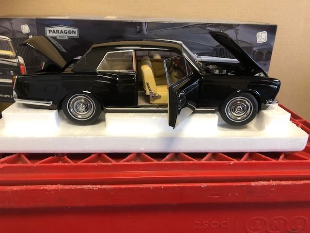Paragon - 1:18 - Rolls Royce Silver Shadow MPW 2 Doors Coupe - 125