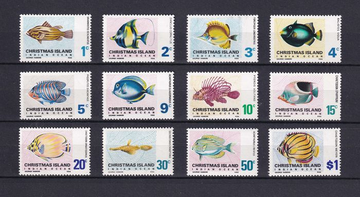 Wereld - Pesci / Fish / Poissons / Fische - nice collection - all different