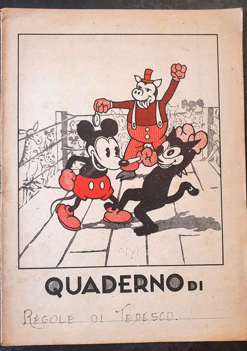 Mickey Mouse - Quaderno soggetto Mickey Mouse - Softcover