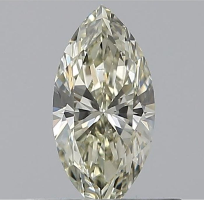 1 pcs Diamant - 0.31 ct - Marquise - M - VS2 Excellent    GIA Certified * No Reserve Price *