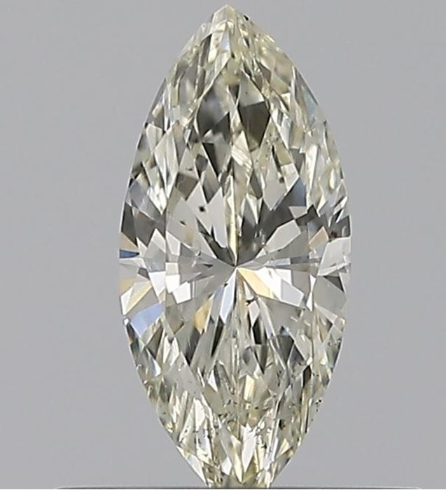 1 pcs Diamant - 0.31 ct - Marquise - L - SI2    GIA Certified * No Reserve Price *