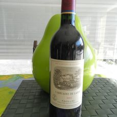 1993 Carruades de Lafite, 2nd wine Chateau Lafite Rothschild - Pauillac - 1 Bottle (0.75L)