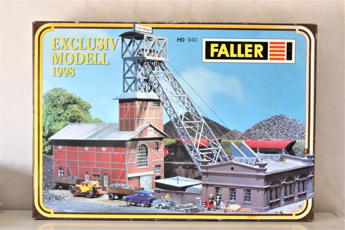 Faller H0 - 940 - Scenery - Coal mine with automatic transport and certificate