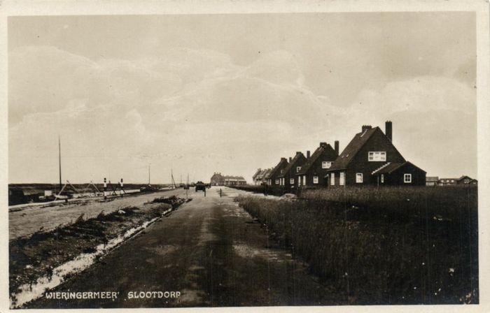 Netherlands - Wieringen & Wieringermeer + Construction of Afsluitdijk - O.a. Slootdorp, Den Oever and - Postcards (Collection of 58) - 1930-1970