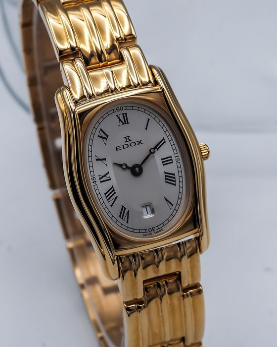 """Edox - Les Combes - """"NO RESERVE PRICE"""" - 51348 37J AIN - N.O.S. - Mujer - 2011 - actualidad"""