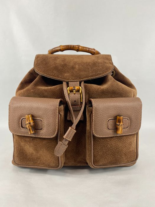 Gucci - Bamboo Top Handle Backpack