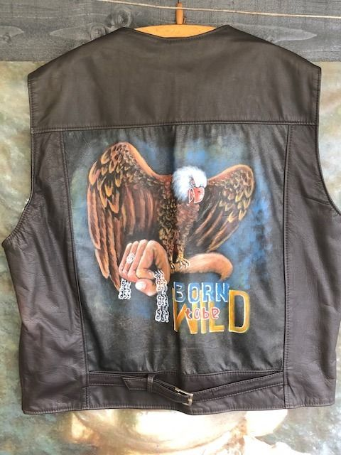 Ropa - Gillet met Harley Screaming Eagle - Madmax - Posterior a 2000