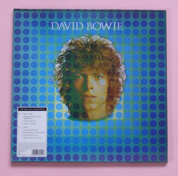 David Bowie - David Bowie (40th Anniversary Limited Edition), Ziggy Stardust ... (remastered 180 gram) - Différents titres - LP's - 2009/2016