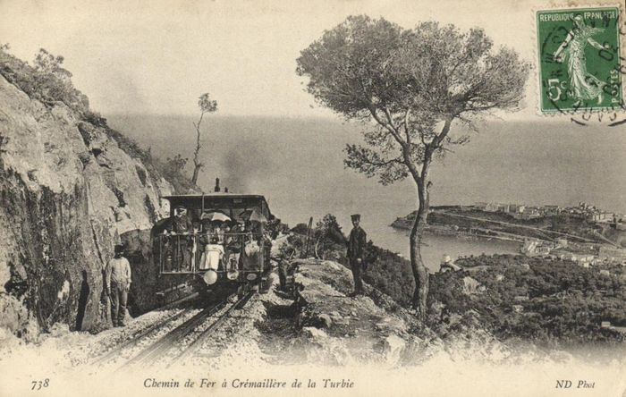 France - Railways - Div. places - Stations, Trains, Trams and Bergspoor - Postcards (Collection of 48) - 1900-1940