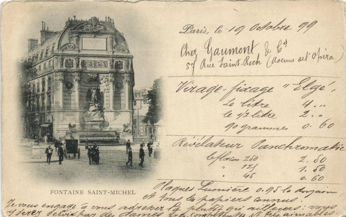 France - Paris Very old series 1899-1905 - Various streets and sights. - Postcards (Collection of 342) - 1899-1905