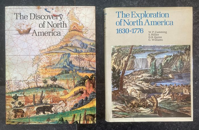 W.P. Cumming e.a. - The discovery of North America / The exploration of North America 1630-1776 - 1971/1974