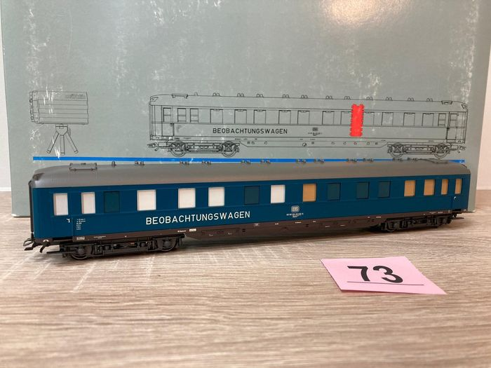 Märklin H0 - 49940 - Passenger carriage - Construction vehicle with video camera and transmitter - DB