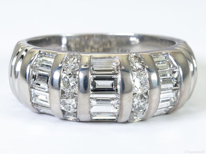 Harr & Jacobs - 14 kt Gold - Ring - 1.40 ct Diamant