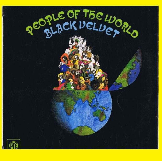 Black Velvet - People Of The World (Funk, Electric Blues, Psychedelic, Blues Rock) - LP Album - 1972/1972