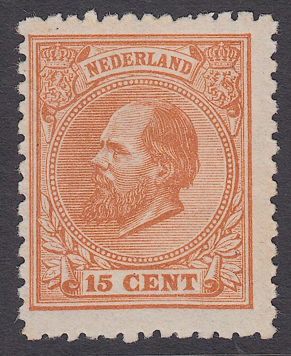 Netherlands 1872 - King Willem III - NVPH 23D