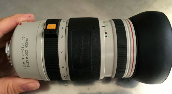 Canon CL Zoom 8 - 120mm F1:1.4-2.1