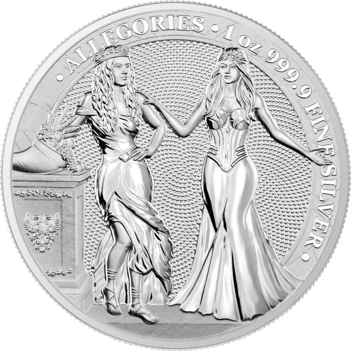 Germany. 5 Mark 2020 'Germania Allegories - Italia & Germania' - with a Certificate of Authenticity